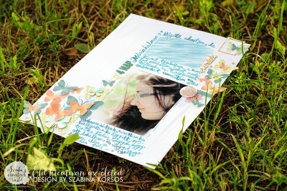 4 nap | Scrapbook inspiráció – Scrapfellow