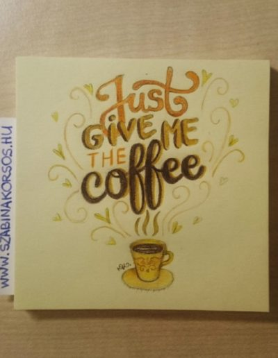 06 - Just give me a coffee...