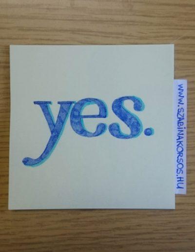 13 - Yes/Igen