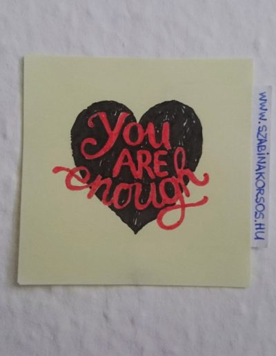 15 - You are enough
