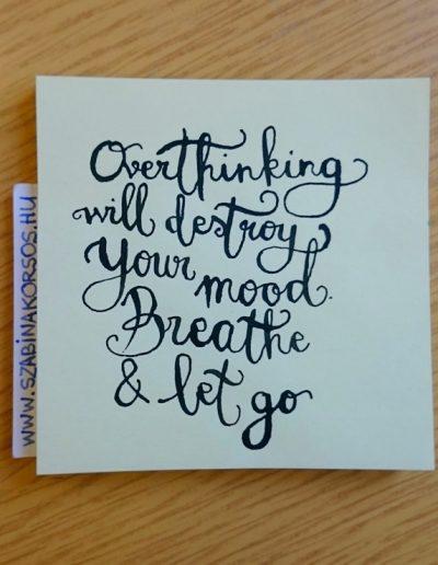 34 - Overthinking