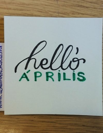 38 - helló Április