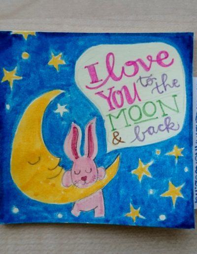 51 - I love you to the Moon and back