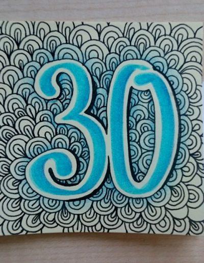60 - 30! Boldog születésnapot :)