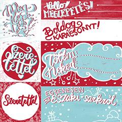 Nyomtatható karácsonyi ajándék címkék