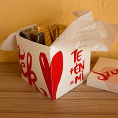 Nyomtatható ajándék, bonbonos doboz Valentin napra