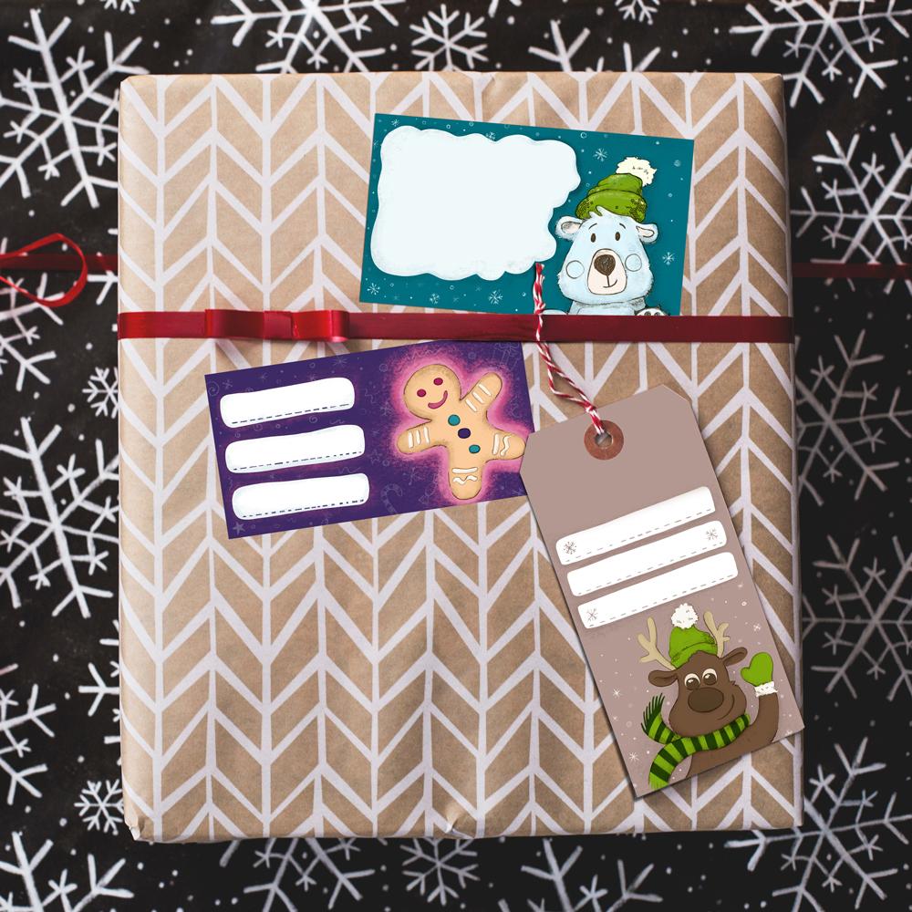 Nyomtatható karácsonyi címkék (2017)